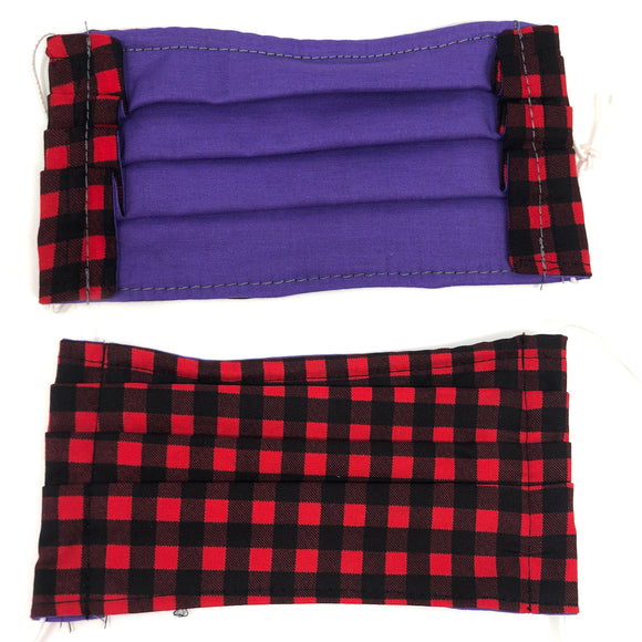 Pick Your Print Adult Face Mask - Buffalo Plaid