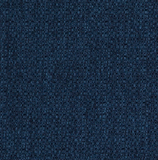 Royal (blue) swatch of tightly woven upholstery fabric
