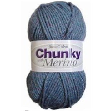 Chunky with Merino - 100g - James C Brett