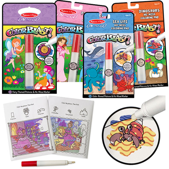 Colorblast - Magic Marker and Paper Sets - Grab & Go