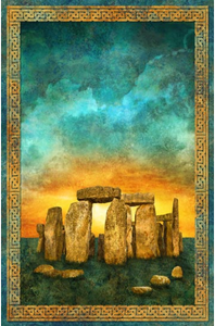 "Solstice Collection - 45"" - 100% cotton - Northcott Stonehenge"