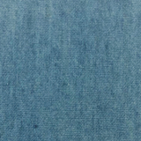 Sky blue swatch of denim fabric