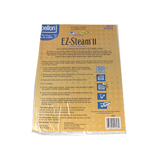 Package of five 9″ x 12″ fusible web sheets (EZ-Steam II)