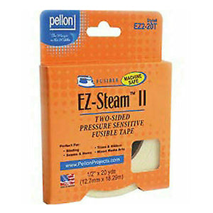 "EZ-Steam Tape - 1/2"" Fusible Adhesive Tape - Pellon EZ2L-20T"