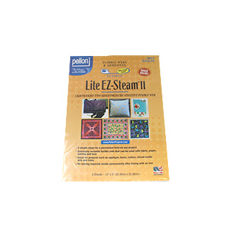 Lite EZ-Steam - Lightweight Precut Fusible Web Sheets - Pellon EZ2L5S