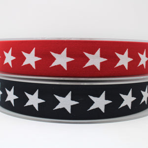 Star Elastic - 70% Polyester 30% Spandex - 40mm