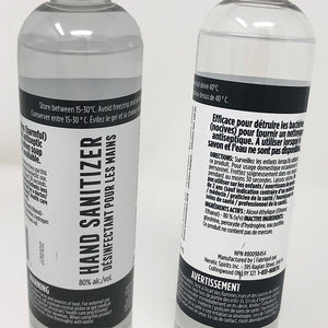 Hand Sanitizer - 80% Alcohol - 236 mL