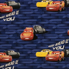 "Licensed Prints - Disney's Cars - 45"" - 100% Cotton"