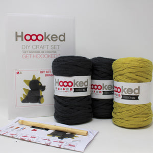 Danny Dragon - Crochet Kit - Hoooked RibbonXL