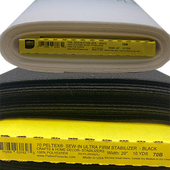 Peltex Extra-Firm Stabilizer - Sew-in - Pellon 70