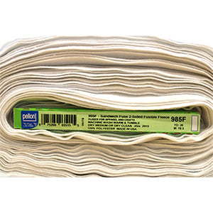Sandwich Fuse - 2-sided Fusible Fleece - Pellon 985F