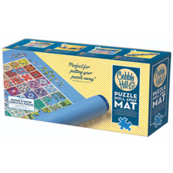 Cobble Hill puzzle roll away mat in packaging (blue colour)