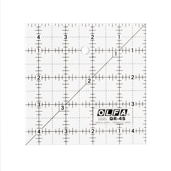Square Frosted Acrylic Ruler - OLFA