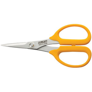 "5"" Straight-Edge Precision Scissors - OLFA"