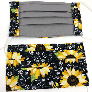 Pick Your Print Adult Face Mask - Sunflowers