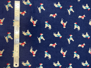 Christmas and Winter Flannel - 100% Cotton - 45""