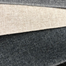 Three colour options for Corona woven upholstery fabric