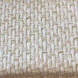 Coarsely woven basecloth in a solid off-white colour