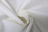 Swirled swatch solid broadcloth in off white