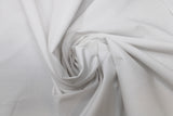 Swirled swatch solid broadcloth in white
