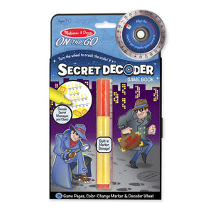 Secret Decoder Game Book - Grab & Go