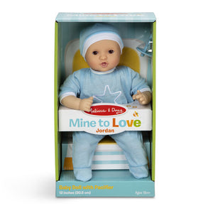 "Jordan - Mine to Love 12"" Baby Doll - Melissa & Doug"