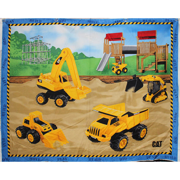 CAT Construction Vehicles - 36x45