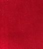 Square swatch solid velvet fabric in shade red