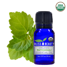 Patchouli Essential Oil, 10 Ml, USDA Organic, 100% Pure & Natural Therapeutic Grade Oils