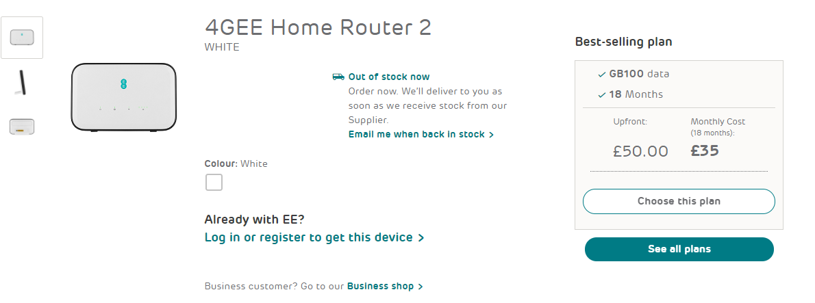 4gee home router2