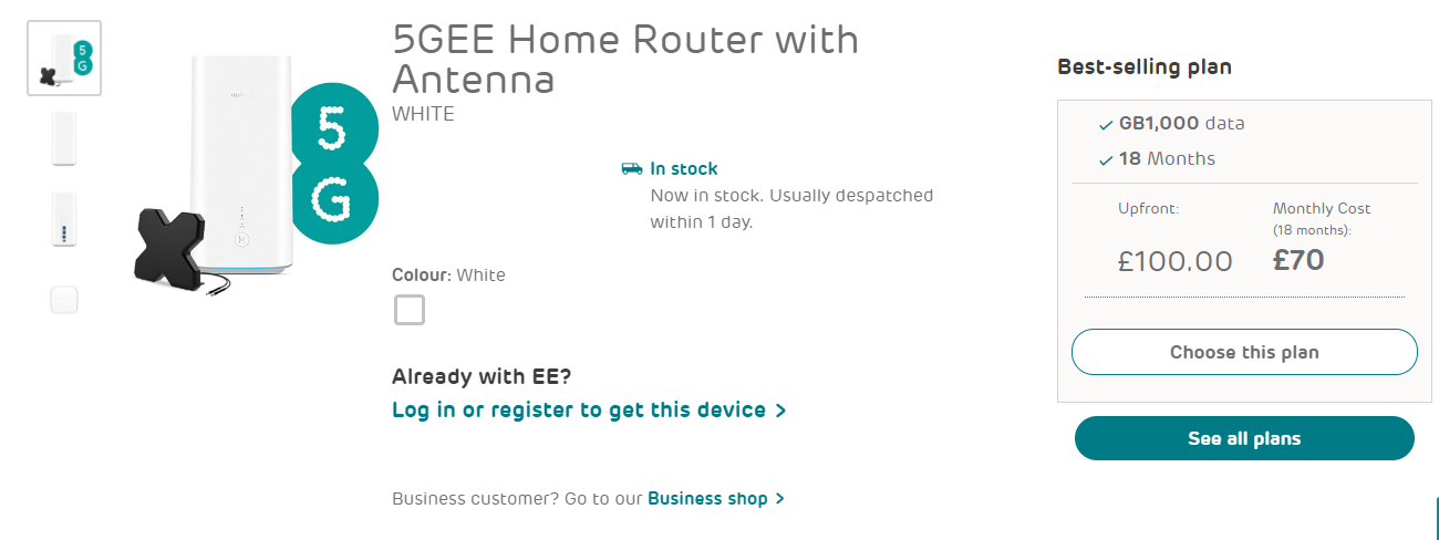 5gee wifi router