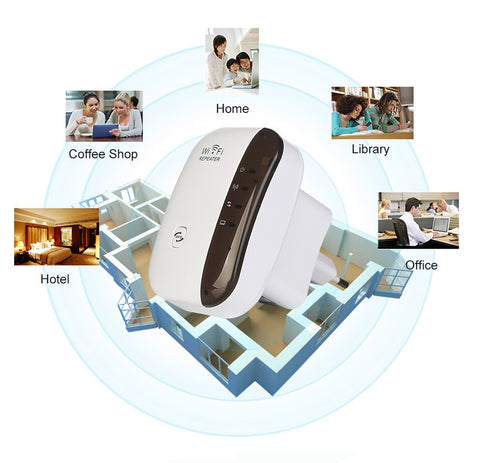 wifi extender booster coverage