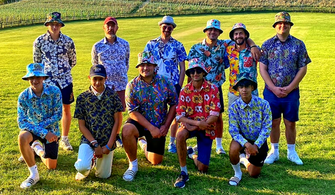 Bent Banani - The Boys From Cowdrey Cricket Club Are Always Sporting Our Awesome Floral Shirts