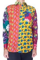 Bent Banani - Full Sleeve Unique Shirt, Created Of 13 Different Floral Fabrics