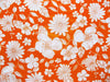 Bent Banani 100% Cotton Fabric Orange 7