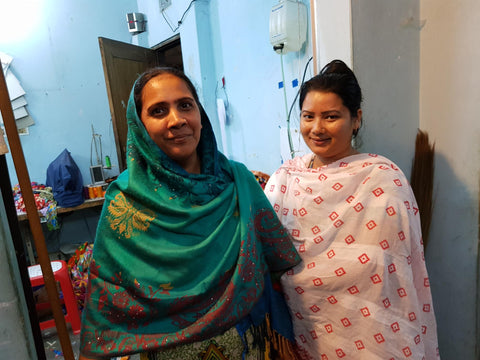 Martha & Sima, Two Of Our Tailors in Bangladesh