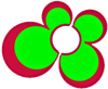 Bent Banani Flower Logo