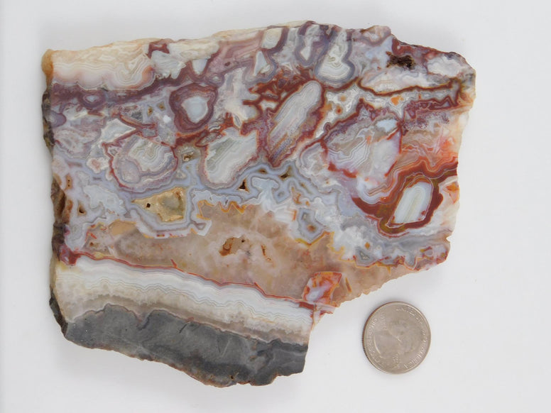 Crazy Lace Agate Slab - Moroccan Village
