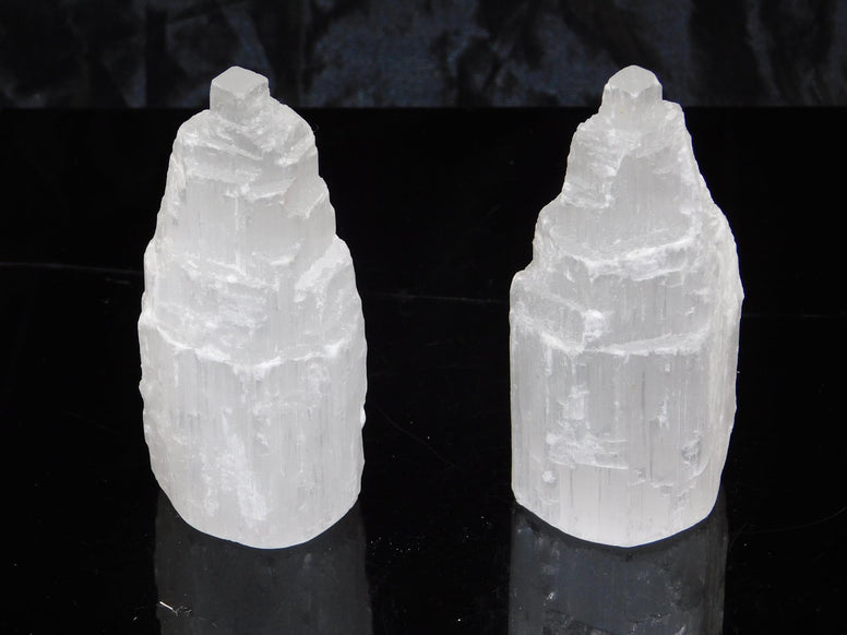 Selenite Rough Towers -Wholesale - Moroccan Village