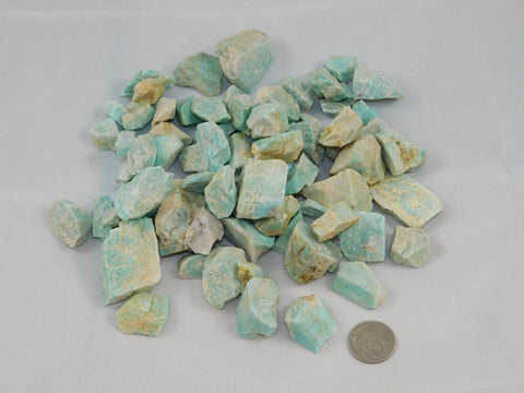 Raw Amazonite - Moroccan Village