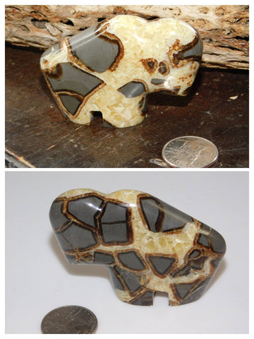 Septarian Buffalo - Moroccan Village