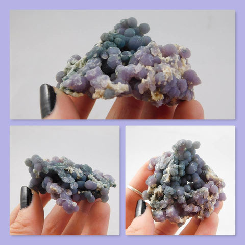 """Grape Agate"" Quartz Var Chalcedony - Moroccan Village"