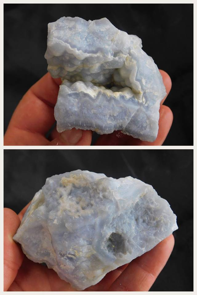Killer Blue Chalcedony - Moroccan Village