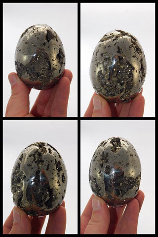 Pyrite Egg - Moroccan Village