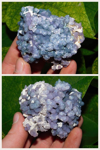 "Grape Agate ""Quartz var Chalcedony"" - Moroccan Village"