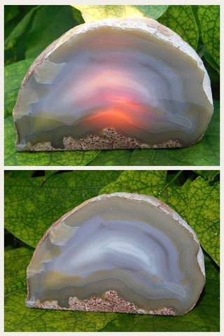 Agate Tea Light Holder - Moroccan Village