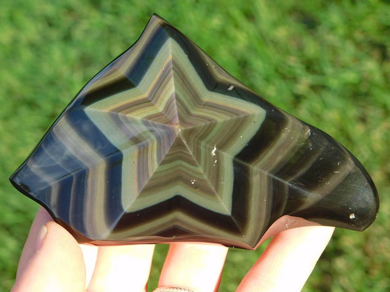 Rainbow Obsidian Star - Moroccan Village