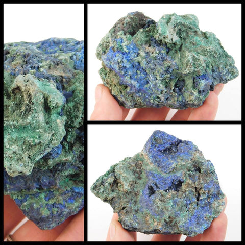 Rough Azurite, Malachite - Moroccan Village