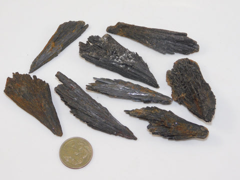 Black Kyanite Parcel - Moroccan Village