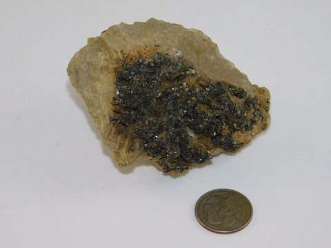 Calcopyrite on Dolomite - Moroccan Village